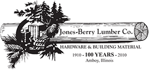 Jones Berry Lumber Co., Logo